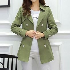Swish - Double-breasted Trench Coat