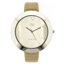 N:U - Not the Usual - Large Mirrored Wrist Watch