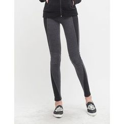 GUMZZI - Contrast-Trim Leggings