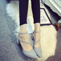 Zandy Shoes - Chunky Heel Sandals