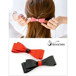 soo n soo - Colored Bow Hair Barrette