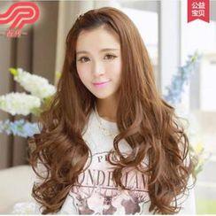 Pin Show - Long Half Wig - Wavy