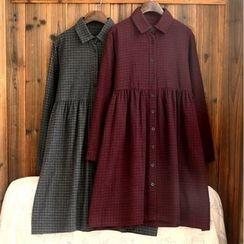 tete - 格紋襯衫裙