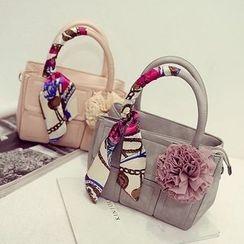Pandabada - Paneled Handbag