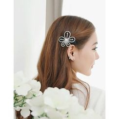 soo n soo - Rhinestone Flower Hair Pin
