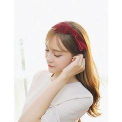 soo n soo - Bow Velvet Hair Band