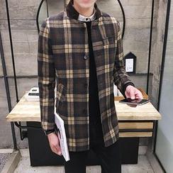 JORZ - Stand-collar Knit Coat