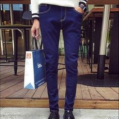 Harvin - Fleece Lined Slim-Fit Jeans