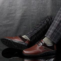 MARTUCCI - Genuine Leather Oxford Shoes