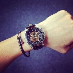Mansfield - Genuine Leather Strap Watch