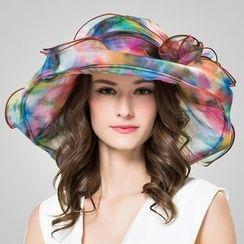 BADA - Layered Silk Sun Hat