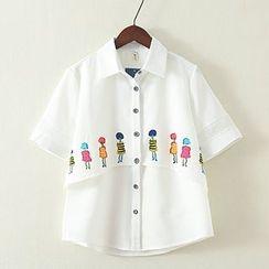 ninna nanna - Short-Sleeve Print Shirt