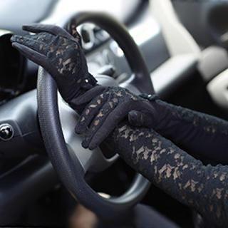 Thantrue - Lace Long Gloves