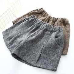 Vateddy - 人字纹短裤