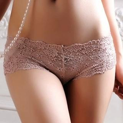 Charming Lover - Lace Panties Set (4pcs)