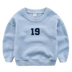 DEARIE - Kids Number Applique Pullover