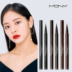 MACQUEEN - Waterproof Pen Eyeliner (Deep Black)