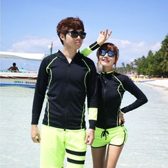 Tamtam Beach - Couple Zip Surf Top / Shorts