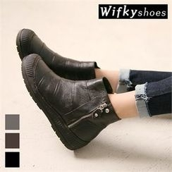 Wifky - Genuine-Leather Ankle Boots