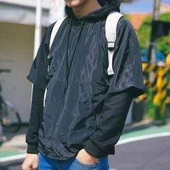 Streetstar - 假兩件連帽衫