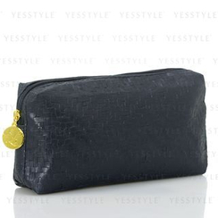 Estee Lauder - Navy Wicker-Print Bag