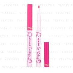 Canmake - Gel Line Artist Eyeliner (#B04 Color Line Candy Pink)