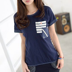 59 Seconds - Double-Pocket Short-Sleeved T-Shirt