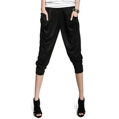 QZ Lady - Baggy Tapered Pants