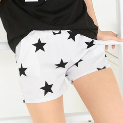 59 Seconds - Star Pattern Shorts