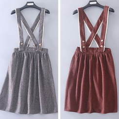 Rega - Knit Suspender Skirt