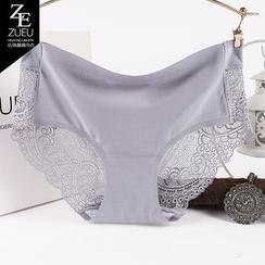 ZUEU - Lace Panel Panties