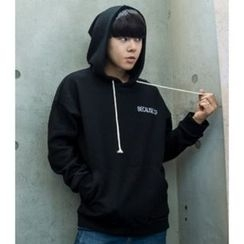 ABOKI - Drawstring Hooded Pullover