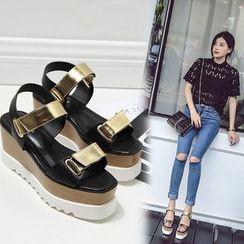 Anran - Platform Sandals