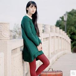 Forest Girl - Loose Fit Knit Top