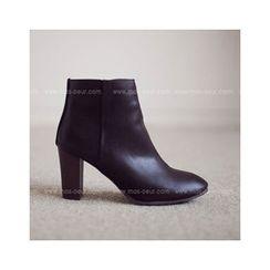 MASoeur - Zip-Side Ankle Boots