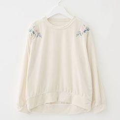 Meimei - Embroidered Sweatshirt
