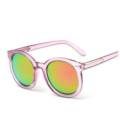 Koon - Thick Frame Round Sunglasses
