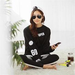 PIPPIN - Drop-Shoulder Printed Sweatshirt