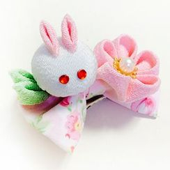 HelloDear - Rabbit Flower Hair Clip