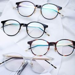 Lose Show - Chunky Frame Round Glasses