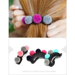 soo n soo - Pompom Hair Clamp