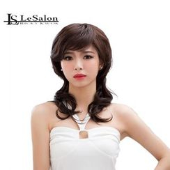 LeSalonWigs - Medium Long Wavy Full Wig