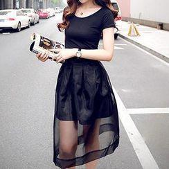 Romantica - Set: T-Shirt + Tulle Skirt