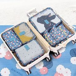 OH.LEELY - Set of 6: Travel Packing Cubes