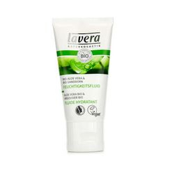 Lavera - Soothing Moisturizing Fluid - Aloe Vera and; Sea Buckthorn (For Sensitive Skin)