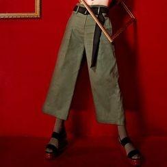 ELF SACK - Wide-Leg Cropped Pants