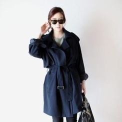Elli's Cabinet - Trench Coat with Belt