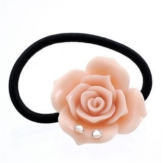 Fit-to-Kill - Dazzling light pink rose with Swarovski crystals hair band