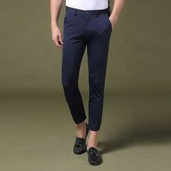 RUYA - Slim-Fit Cropped Pants