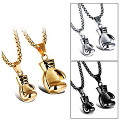 Tenri - Boxing Glove Couple Matching Necklace